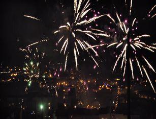 Isernia, botti della notte di capodanno 2020-21 (Video)