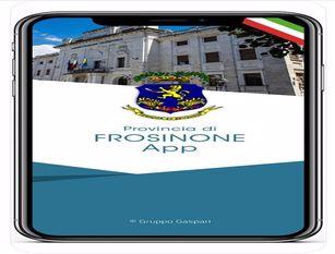 Provincia di Frosinone, da mercoledì 3 febbraio sarà attiva la prima APP per i dispositivi IOS e Android Il presidente Pompeo: un Ente che fa dell'innovazione tecnologica lo strumento per essere ancora più vicino ai territori