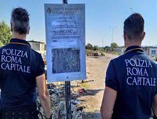 Raggi firma ordinanza sgombero Area F e Area Tor Pagnotta del campo rom di Castel Romano