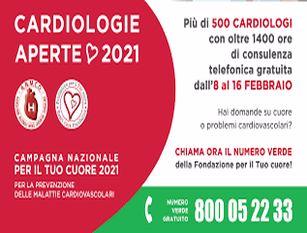 """Campagna di prevenzione cardiovascolare """"Cardiologie Aperte"""", partecipe il Cardarelli di Campobasso"""