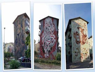 Campobasso e i suoi murales uno dei posti più romantici del Molise