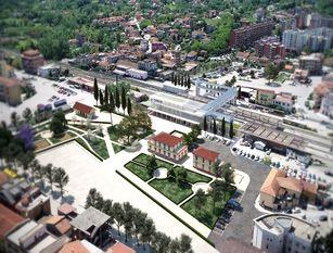 Frosinone, approvato il definitivo della nuova piazza allo Scalo. Il rendering