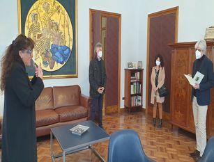 Covid-19:  un'altra iniziativa di solidarieta' targata 'provincia solidale' La Provincia dona diecimila euro all'ente nazionale sordi di Frosinone