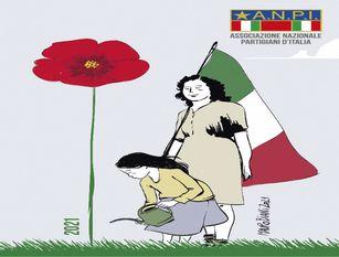 ANPI Molise, 8 marzo 2021. Un fiore alle partigiane.