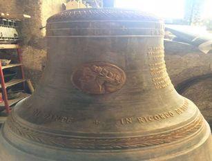 Dante: fusa in Molise campana per i 700 anni dalla morte Commissionata dall'Ordine della Casa Matha di Ravenna