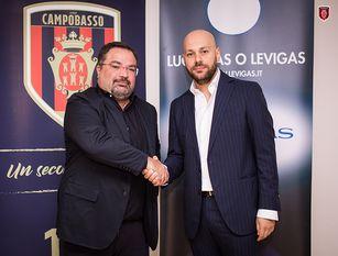 Calcio lega pro, Levigas e SS Città di Campobasso insieme fino al 2024