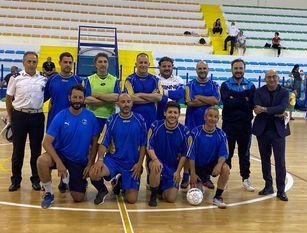 Calcio a 5, il team della polizia municipale