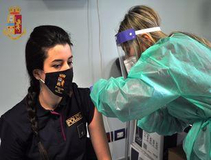 Completato l'iter vaccinale presso la Questura di Isernia
