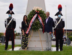 Campobasso onora i caduti dell'arma dei Carabinieri Scoperto il monumento alla rotonda Monforte. Presenti tutte le autorità