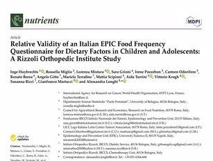 """Pubblicati i risultati circa lo studio sulla correlazione cancro e nutrizione I risultati della ricerca a cui hanno contribuito la Lilt Campobasso e gli studenti dell' Istituto Omnicomprensivo Liceo F. D'ovidio Di Larino"""""""