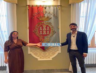 In visita a palazzo San Giorgio la sindaca di Dimal
