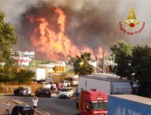Caldo, incendi e siccità: Coldiretti Molise, stato calamità Grave situazione campagne, neanche sfalcio fieno
