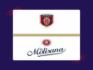 'La Molisana' main sponsor del settore giovanile rossoblù Per il campionato nazionale under 15 e under 17 sulle maglie ufficiali dei 'Lupetti' ci sarà il marchio che rappresenta il Molise nel mondo.