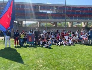 La 'Provincia Creativa' porta la bellezza ovunque I ragazzi del Campus a Selva Piana per incontrare mister Cudini e i suoi giocatori