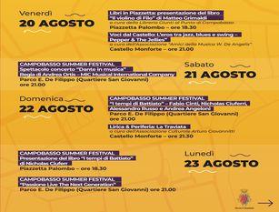 """Tutti i nuovi appuntamenti di """"Agosto in Città"""" dal 19 al 22 agosto"""