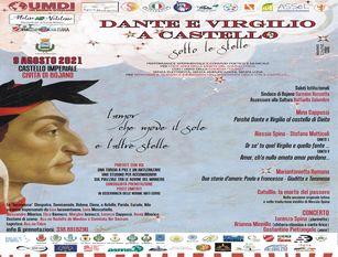 Dante e Virgilio a Castello sotto le stelle, non evento a Civita di Bojano. Amor cortese, tradimenti e  lussuria