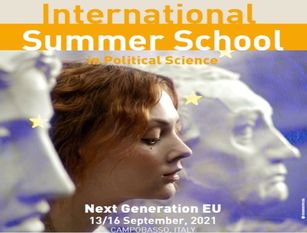 Scienze Politiche e Next Generation EU: 13 settembre, Summer School Internazionale,