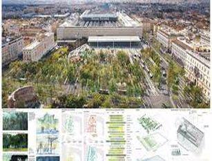 Piazza dei Cinquecento: la nuova porta della città Gruppo FS e Roma Capitale presentano l'esito del concorso di riqualificazione dell'area attorno alla stazione Termini