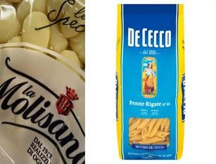 """La Molisana è risultata, con la De Cecco, la pasta migliore per """"il Salvagente""""  Meno residui nella pasta, crescono le paste bio"""