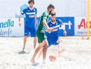 Beach soccer: Viareggio-Terracina e Napoli-Catania, ecco le 'Fab Four' della coppa Italia Aon. (calendario) Grande spettacolo ad Alghero per la seconda giornata di gare Beach Soccer per lla Coppa Italia Aon.