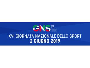 16ª Giornata Nazionale dello Sport. Domenica 2 giugno 2019 a Campobasso