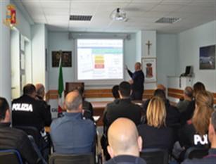 Isernia – La Polizia di Stato a lezione  di gestione delle emergenze.