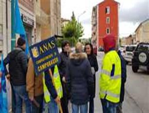 Micaela Fanelli, uniti per il mantenimento  del compartimento Anas del Molise