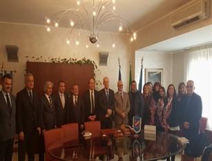 Delegazione turca in Consiglio regionale