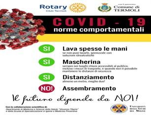 Covid-19: dal Rotary Club di Termoli una campagna informativa che accresce la sensibilizzazione