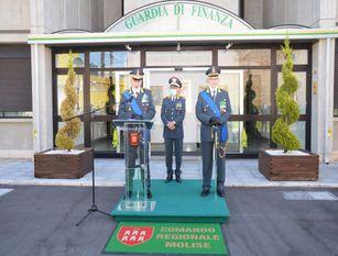 Cambio al vertice del Comando provinciale di Campobasso della Guardia di Finanza (foto))