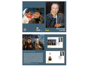 Filatelia: anche in Molise il nuovo folder dedicato a Toto' L'omaggio al grande artista napoletano segue il francobollo emesso  nel 50° anniversario della sua scomparsa