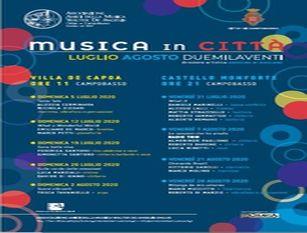 """Presentato a Villa De Capoa a Campobasso il cartellone di """"Musica in città"""" Felice: """"Con Musica in città vogliamo riconsegnare alla città una normalità che passa necessariamente anche attraverso le attività culturali"""""""