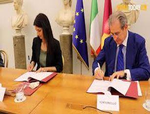 """Firmata convenzione tra Roma Capitale e Unindustria per la promozione e valorizzazione dei beni culturali Raggi: """"Oggi parte una nuova fase di attivazione per le proposte di sponsorizzazione"""""""