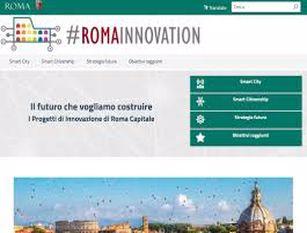 """Al via il sito #RomaInnovation, spazio online dell'innovazione digitale di Roma Capitale Raggi: """"Servizi offerti sempre più accessibili per ogni city user: residenti, studenti fuori sede, imprenditori, pendolari, turisti, categorie più fragili"""""""