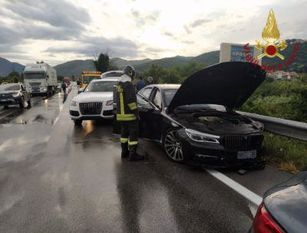 Montaquila (IS), incidente stradale