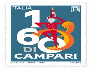 Poste Italiane: un francobollo per i 160 anni della Fondazione Campari