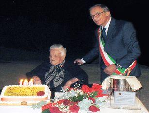 Isernia, Antonia Scarselli ha compiuto 100 anni