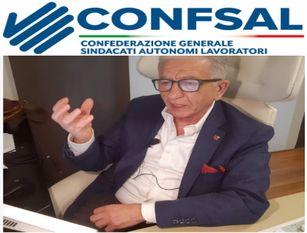 Incontro di Cifa e Confsal con il presidente del Cnel Tiziano Treu