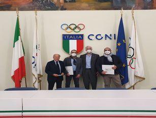 Incontro a Roma tra il neo presidente D'Angelo e il presidente Malagò: 'In Molise il prossimo Consiglio Nazionale Coni'.