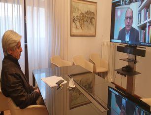 Il coordinamento dei sindaci democratici a colloquio con il segretario Letta