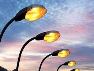 Impianto di pubblica illuminazione lungo la strada di collegamento fra Pesche e Isernia