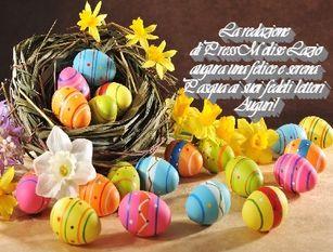Felici e sereni auguri di buona Pasqua