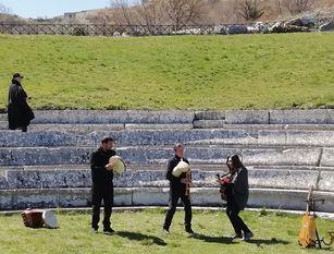 In Molise, la troupe del programma di rai2 'Il Mythonauta'