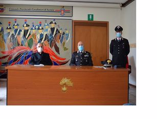"""Isernia, vaccinazioni e altro: i Carabinieri di Isernia presentano l'importante progetto """"Un Click di solidarietà"""" (video)"""