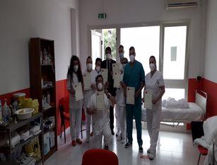 Chrimar Venafro, 13 nuovi allievi diventano Operatori Socio Sanitari Esami pratici e teorici  distribuiti  su due giorni