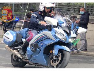 Campobasso, Giro e Polizia Stradale: un'amicizia che dura da oltre 70 anni