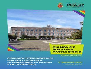 Campobasso con la Rete READY per la diciassettesima Giornata Internazionale contro l'omofobia