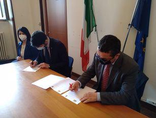Firmato il protocollo d'intesa tra ICPI e Comune di Campobasso