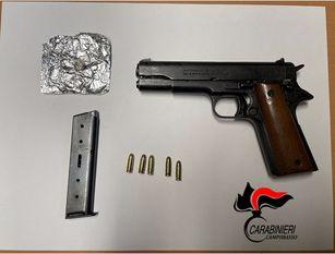 Campobasso, in scooter con droga e pistola sotto la sella Fermato nella zona della Piazza Caduti del Tiro a Segno Nazionale di Campobasso il 25 enne con una pistola clandestina.