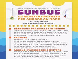 """""""Sunbus"""" Termoli: parte il servizio navetta per i due litorali"""
